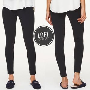 Loft Basic Black Leggings [size XL]